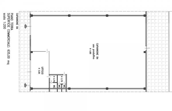capannone piccolo con ufficio
